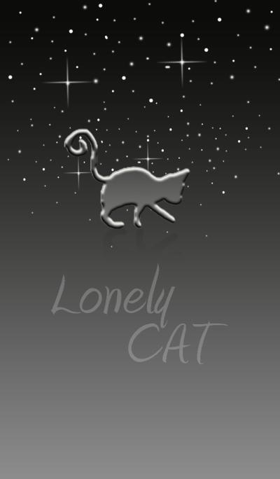 Lonely Cat.