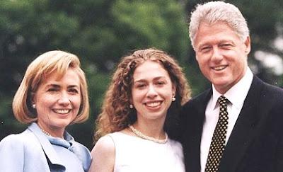 Foto de Hillary Clinton con sus amores