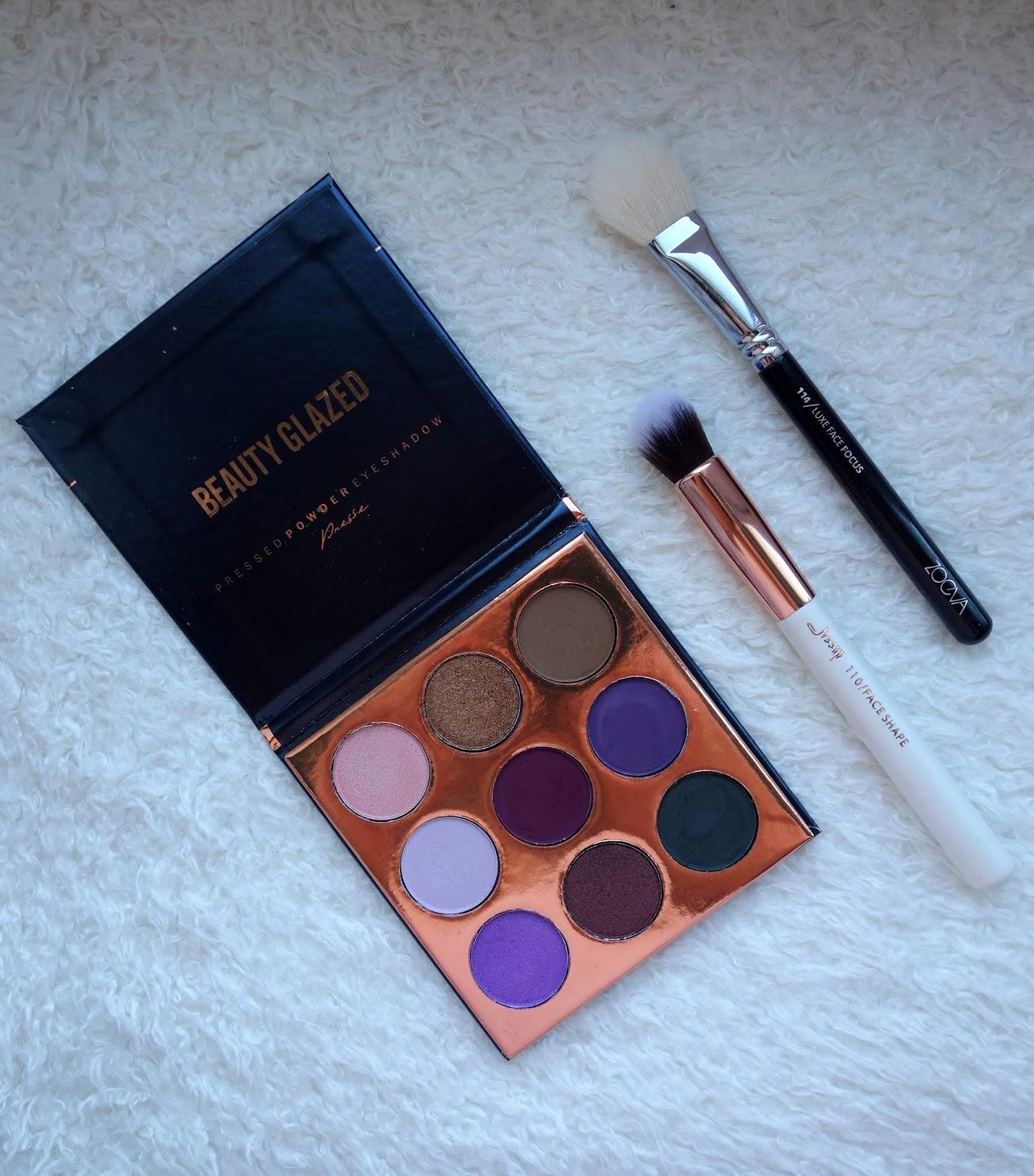 Paleta Beauty Glazed | The Purple Palette | Recenzja + swatche