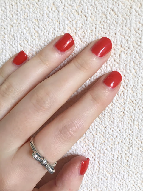 Sensationail Scarlet Red
