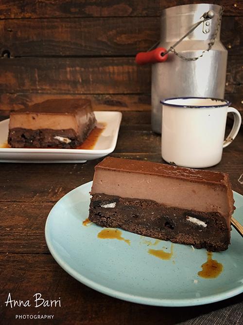 Brownie_flan2