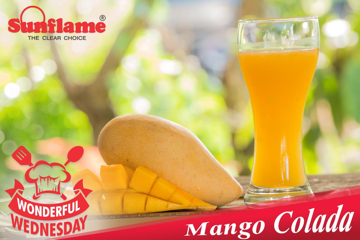 Recipes: Mango Colada