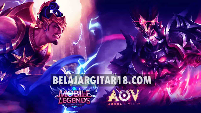 Mobile Legends vs Arena Of Valor Mana yang Lebih Bagus