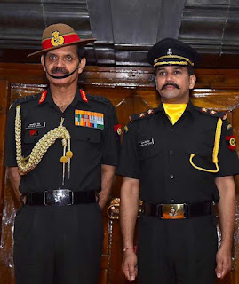 Lieutenant Anurag Thakur of the 124 Sikh Battalion #TerritorialArmy
