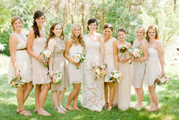 The Bridesmaid Dresses Especially Since They Are All Diffe But Go Together Seamlessly Plus You Get A Full View Of That To For Lace Dress