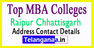 Top MBA Colleges in Raipur Chhattisgarh
