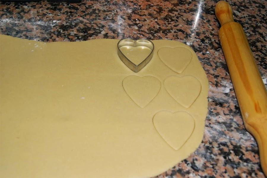 Pastas con mermelada paso 4