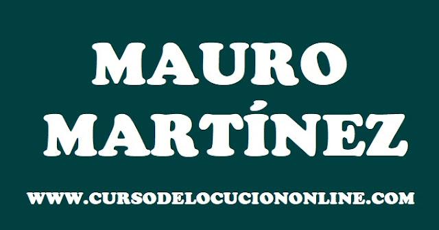 MAURO MARTÍNEZ LOCUTOR URUGUAYO