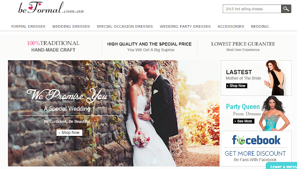 Beformal.com.au Wedding Dresses