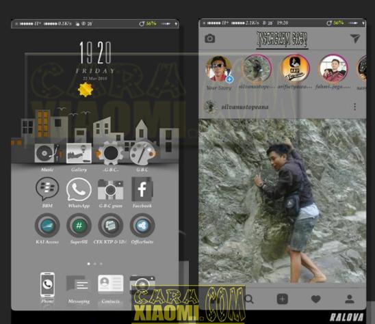 Download Tema Xiaomi Grey Black City v1 Mtz For MIUI New Version