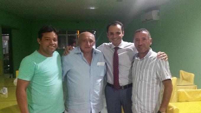 Atual vice-prefeito de João Câmara e empresário Josafá Araújo, declara apoio a candidatura à vereador do Advogado Flavio Sami.