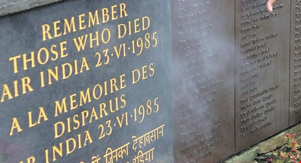 Air India Flight 182 Memorial