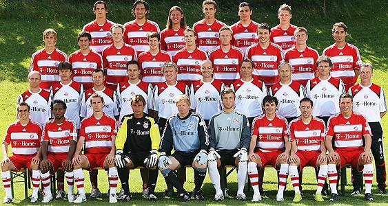 Bayern Kader 2008
