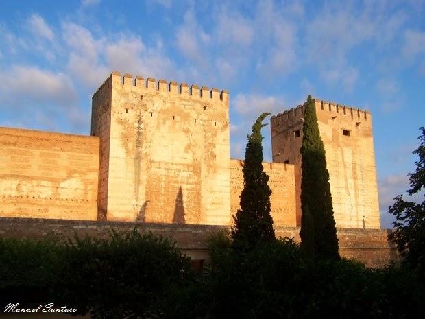 Granada, Alhambra, Alcazaba
