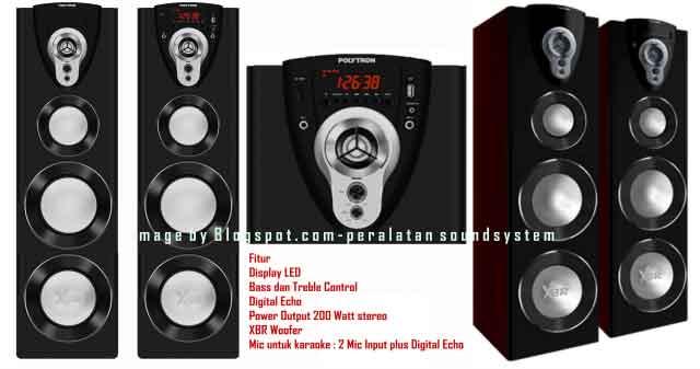 Harga Speaker Aktif Polytron PAS 38 XBR