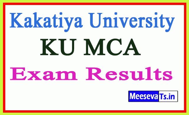 Kakatiya University MCA Exam Results