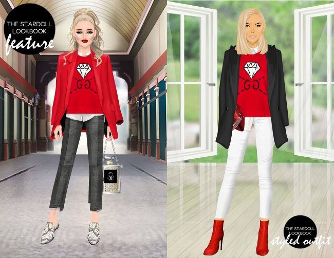 9fdc25abc Spotted this great look by Mirdith featuring the Gucci Gucci Inspired  Diamond Knit which was released not too long ago in the last set of  Tributes - I ...