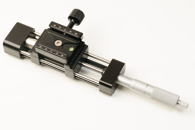 Hejnar PHOTO MS4-2 Linear Motion Micrometer Macro / Micro Rail