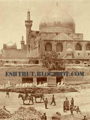 عکس قبر امام رضا بدون ضریح