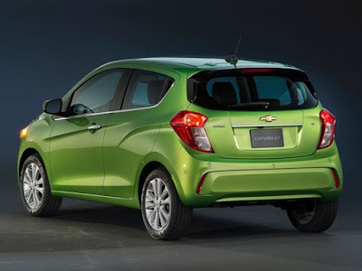 upcoming 2017 Chevrolet Beat rear taillight