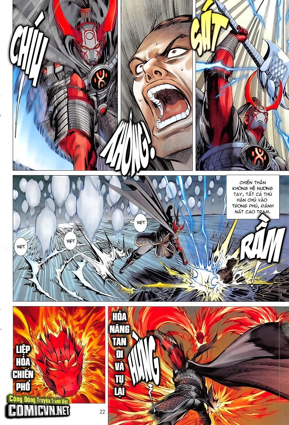 Chiến Phổ chapter 7: giết mi không chỉ mình ta trang 22