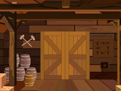 TollFreeGames Wooden Hut Escape