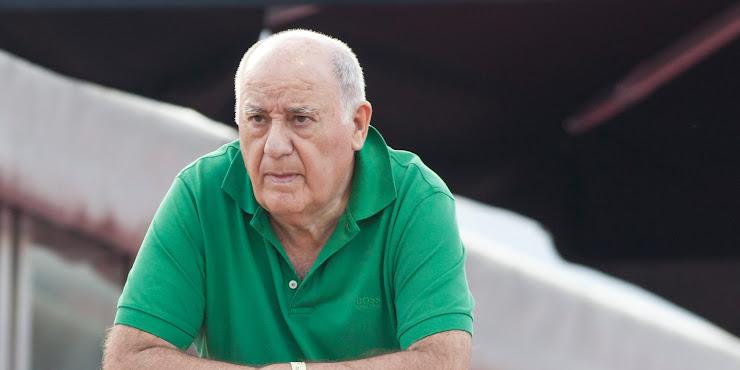 Amanco Ortega Harus Kehilangan Uang Rp34,58 Triliun Dalam Sehari