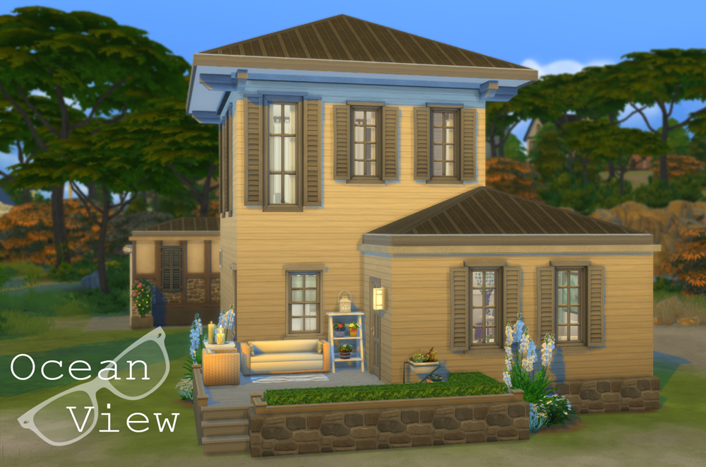 Athsndwords Sims 4 Designs: Ocean View