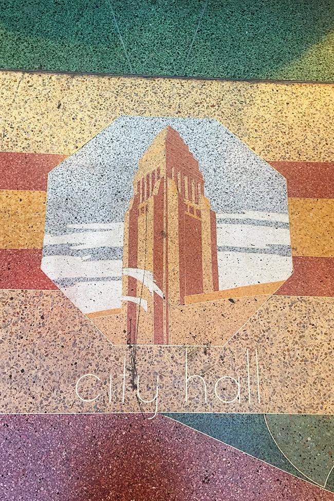 Cliftons terrazzo