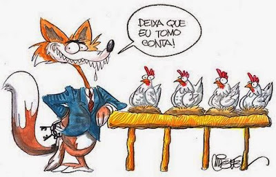 Resultado de imagem para raposas políticas charge