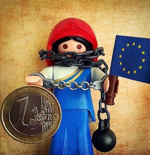 Η πολιτική υποτέλεια της Ελλάδας στην Ευρωπαϊκή Ένωση