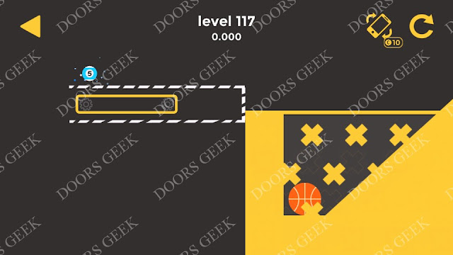 Ball & Ball Level 117 Solution, Walkthrough, Cheats for android and ios