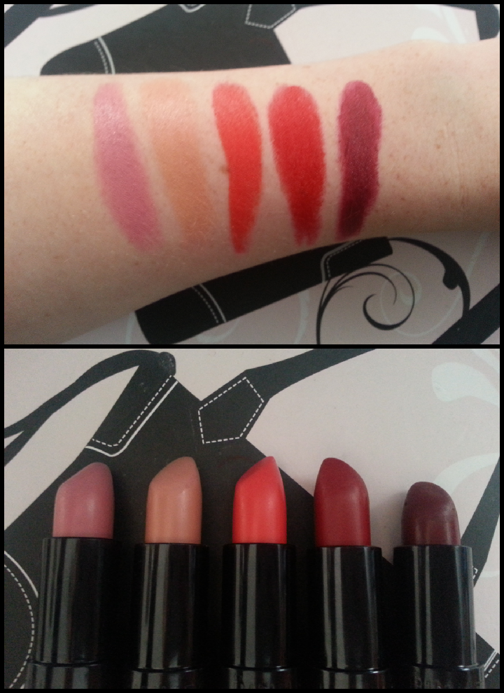 Review: Kate Moss for Rimmel Matte Lipstick Collection with ...