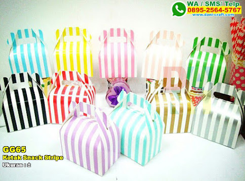 Kotak Snack Stripe