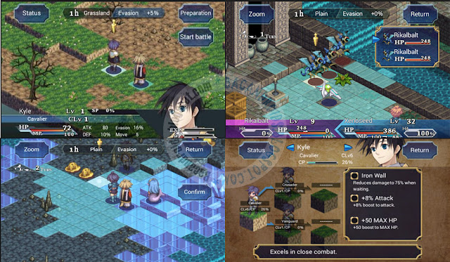 SRPG Legend Of Ixtonia Apk Full Android