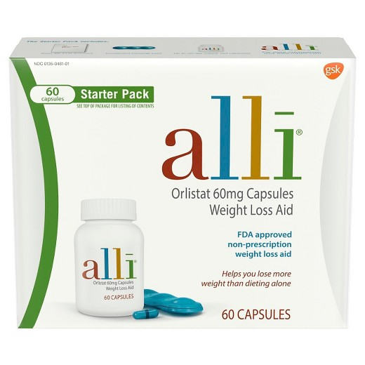 Orlistat weight loss aid