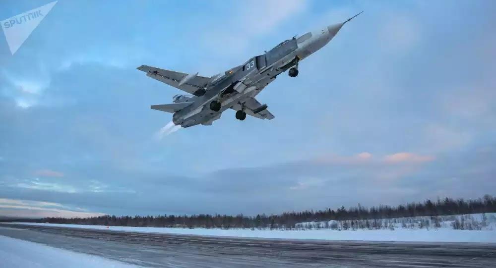 Ρωσικά αεροσκάφη βομβάρδισαν εξτρεμιστές που υποστηρίζουν την Τουρκία - Βίντεο