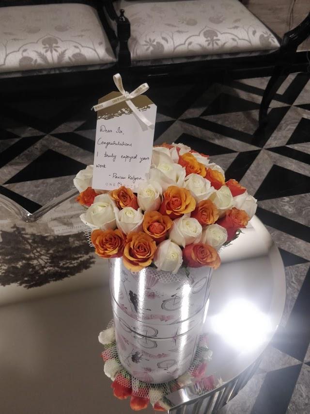 Appreciation for Chitralahari from the Power Star Pawan Kalyan