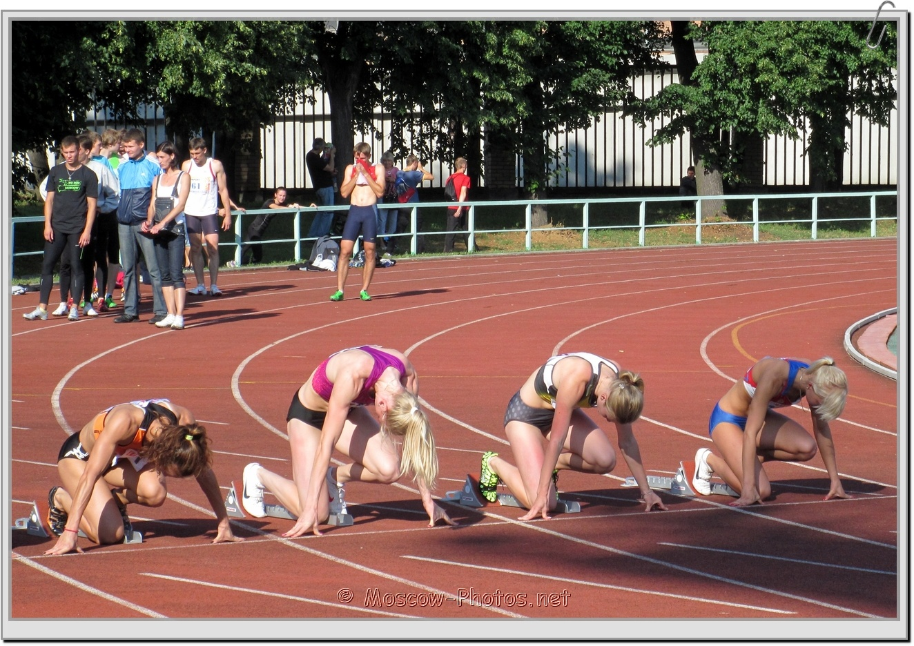 Start of run at Moscow Athletics Open 2011