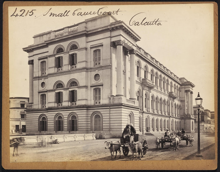 Small Cause Court Calcutta (Kolkata) - Mid 19th Century