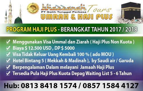 Haji plus berangkat 2017