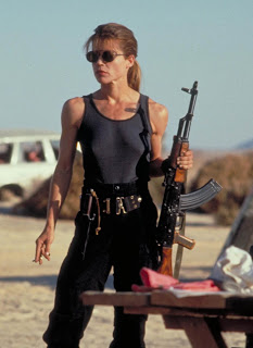 Sarah Connor fusil