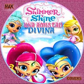 Shimmer y Shine Galleta Maxcovers