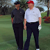US President-Elect, Donald Trump And Tiger Woods Seen Playing Golf Together (Photo)