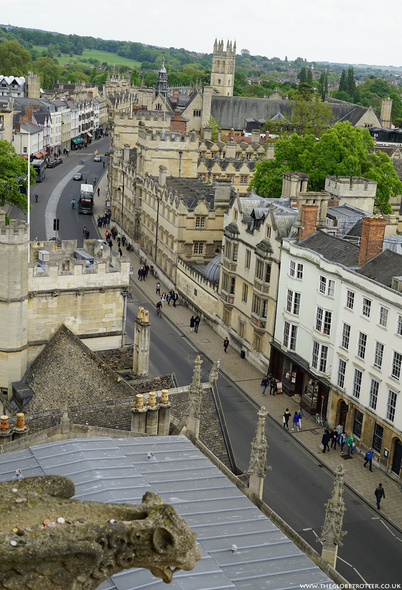 Brilliant Views of Oxford from the top of The University Church of St Mary