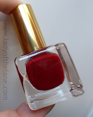 Estee Lauder Pure Color Nail Laquer, Enchanted Garnet