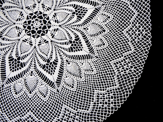 State of the Art Doily, Magic Crochet Magazine