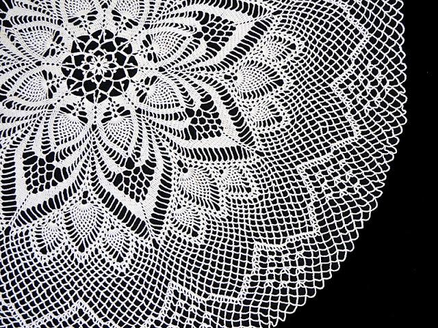 State of the Art Doily, Magic Crochet Magazine
