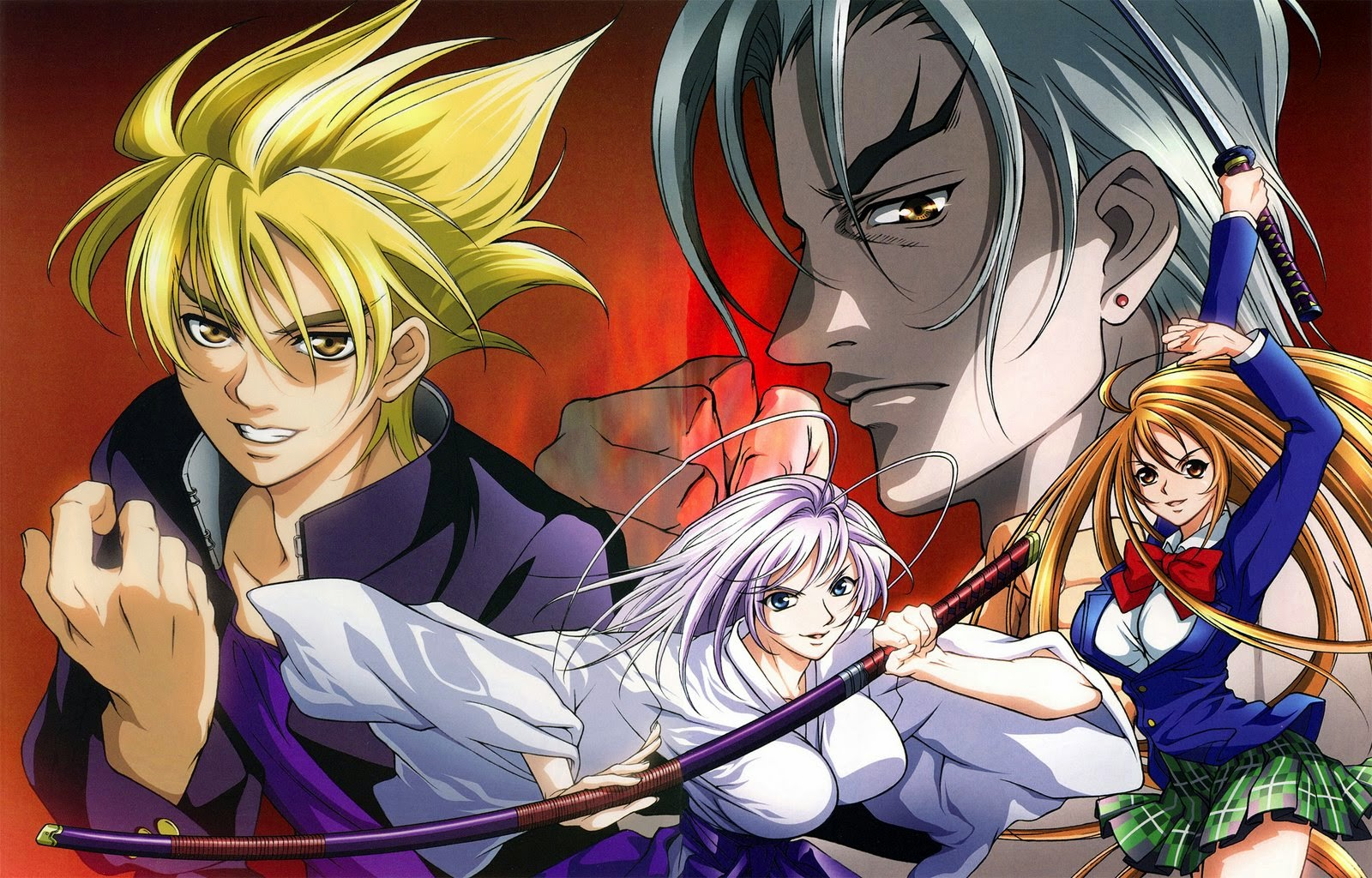 Download Tenjou Tenge Subtitle Indonesia (Complete)