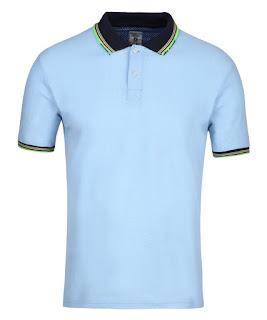 Yepme Wayne Premium Polo Tee - Blue